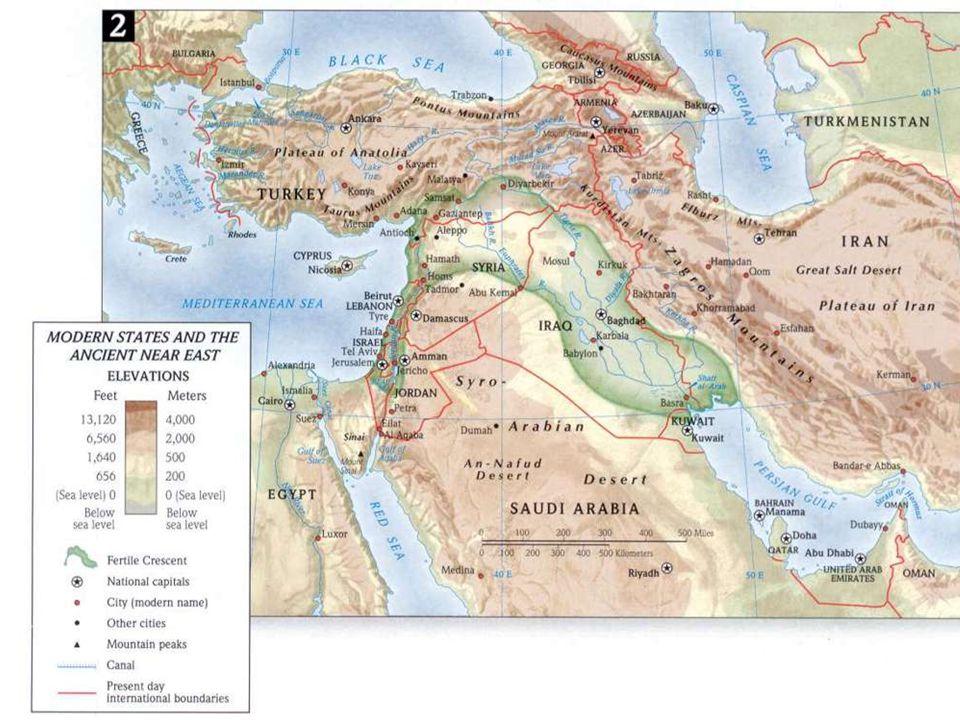 Mesopotamia 3000 – 1700 Periodo sumerico-accadico-sumerico 3000-2350 città stato  poi unificate Lugalzaggisi (re di Uruk) nel 1° impero sumerico (dal Golfo Persico al Mediterraneo) 2350 Sargon il Grande re degli Accàdi conquista l'impero sumerico e molti altri territori  impero accadico 2350-2150 impero accadico 2150 i Gutei travolgono l'impero accadico 2050 la città di Uruk scaccia i Gutei e fonda il 2° impero sumerico 2050 – 1700 c.a 2° impero sumerico (Uruk) 1950 invasione degli Amorrei si stabiliscono in Babilonia Secolo XVIII Hammurabi re di Babilonia unifica la Mesopotamia  1700 – 1500 1° impero babilonese 1500 – 1100 Hittiti, Hurriti Cassiti, Elamiti  1362 – 612 Assiri (distruzione del Regno di Israele (Nord) / Regno di Giuda (Sud) tributario dell'Assiria) 612 Babilonesi e Medi abbattono l'impero assiro  612 – 539 2° impero babilonese (distruzione di Gerusalemme e del I Tempio I e II deportazione dei cittadini e delle classi dirigenti di Gerusalemme)