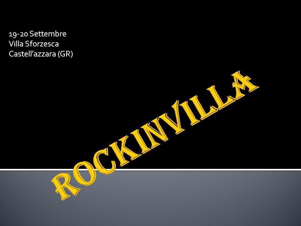 19-20 Settembre Villa Sforzesca Castell'azzara (GR)
