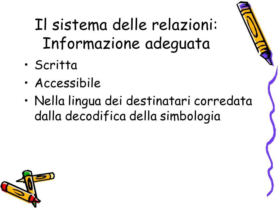 Il sistema delle relazioni: Formazione addestramento Diritto individuale del lavoratore.
