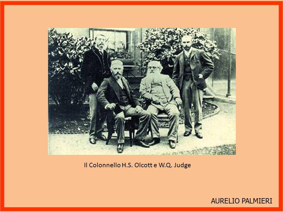 AURELIO PALMIERI Adyar 1884