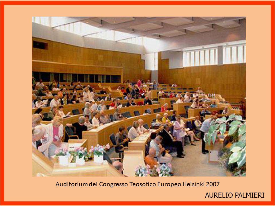 AURELIO PALMIERI Congresso Teosofico Europeo Helsinki 2007.