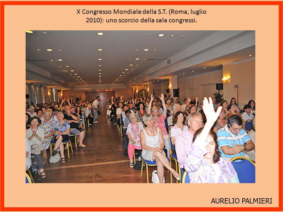 AURELIO PALMIERI X Congresso Mondiale della S.T.(Roma, luglio 2010): la chiusura dei lavori.