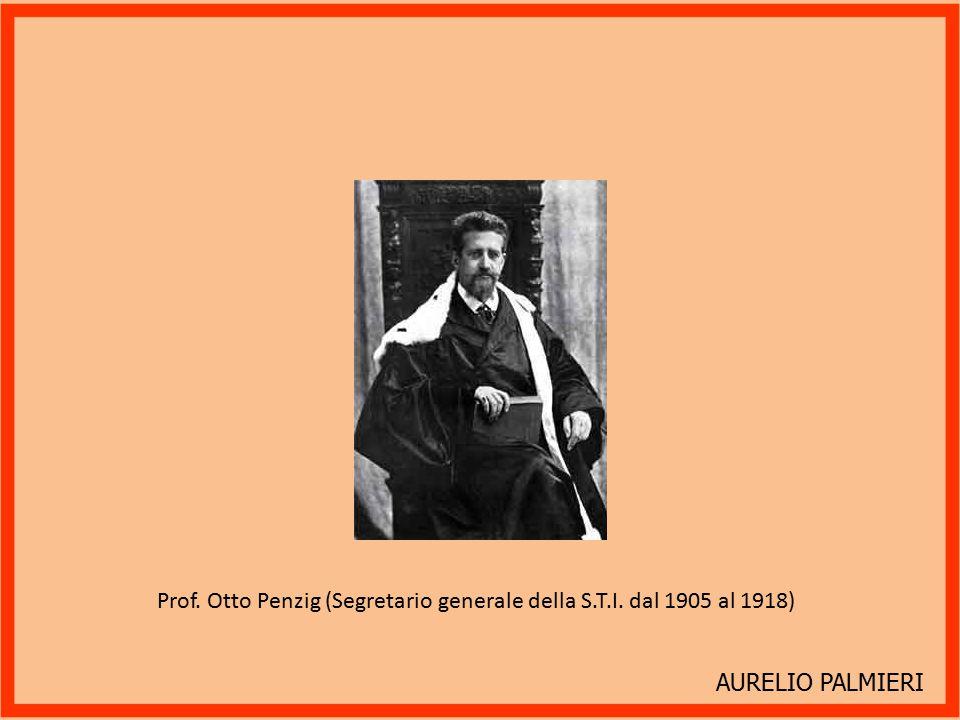 AURELIO PALMIERI Il Segretario Generale della S.T.I. dott. Antonio Girardi