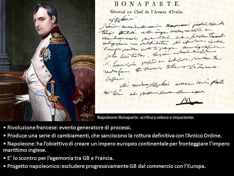 Rivoluzione francese: evento generatore di processi.