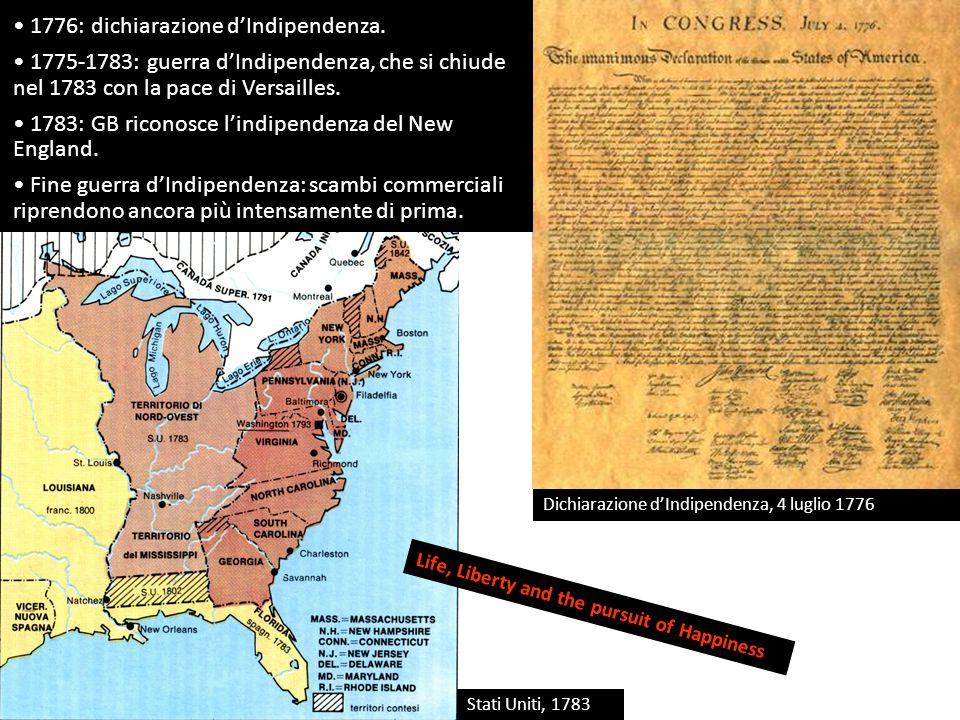 Dichiarazione d'Indipendenza, 4 luglio 1776 1776: dichiarazione d'Indipendenza.