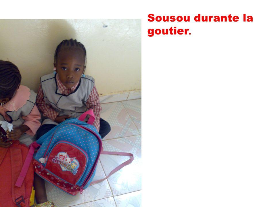 Sousou è nella petite section.