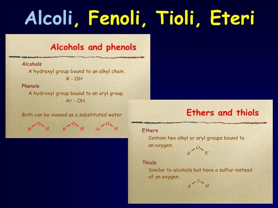 Negli alcoli fluoroderivati, quindi, la polarizzazione della molecola, dovuta alla forte elettronegatività del fluoro, porta ad una delocalizzazione della carica negativa (  - ) sul fluoro con parziale carica positiva (  + ) sul C, quindi ad una polarizzazione del legame C  F.
