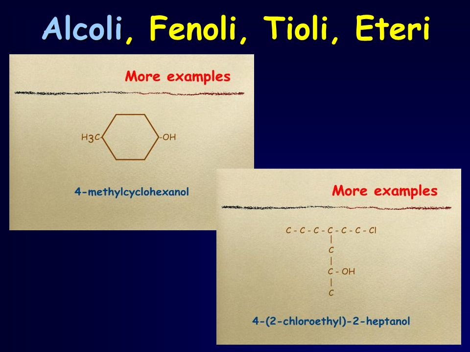 Il chetoso più semplice è il diidrossiacetone L'aldoso più semplice è la gliceraldeide triosi Diidrossiacetone e gliceraldeide hanno tre atomi di carbonio e sono detti triosi CH 2 OH C CH 2 OH O CHO C CH 2 OH OHH