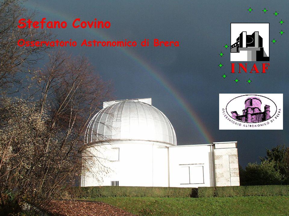 Stefano Covino Osservatorio Astronomico di Brera