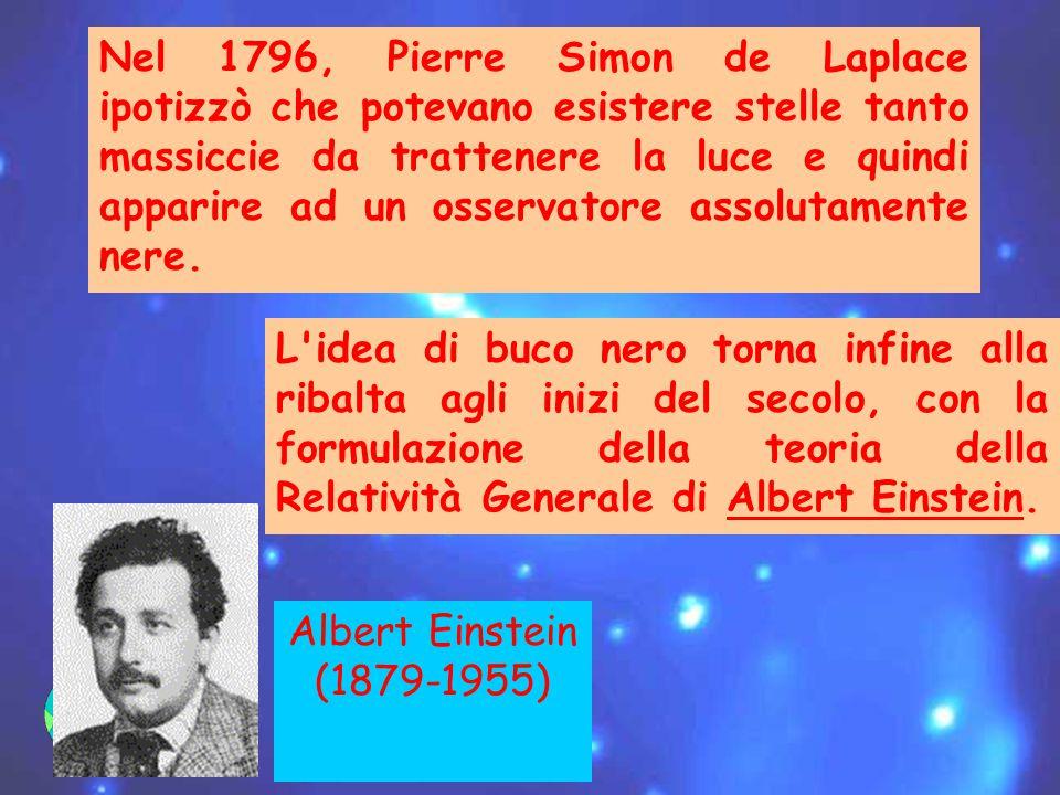 Nel 1796, Pierre Simon de Laplace ipotizzò che potevano esistere stelle tanto massiccie da trattenere la luce e quindi apparire ad un osservatore assolutamente nere.