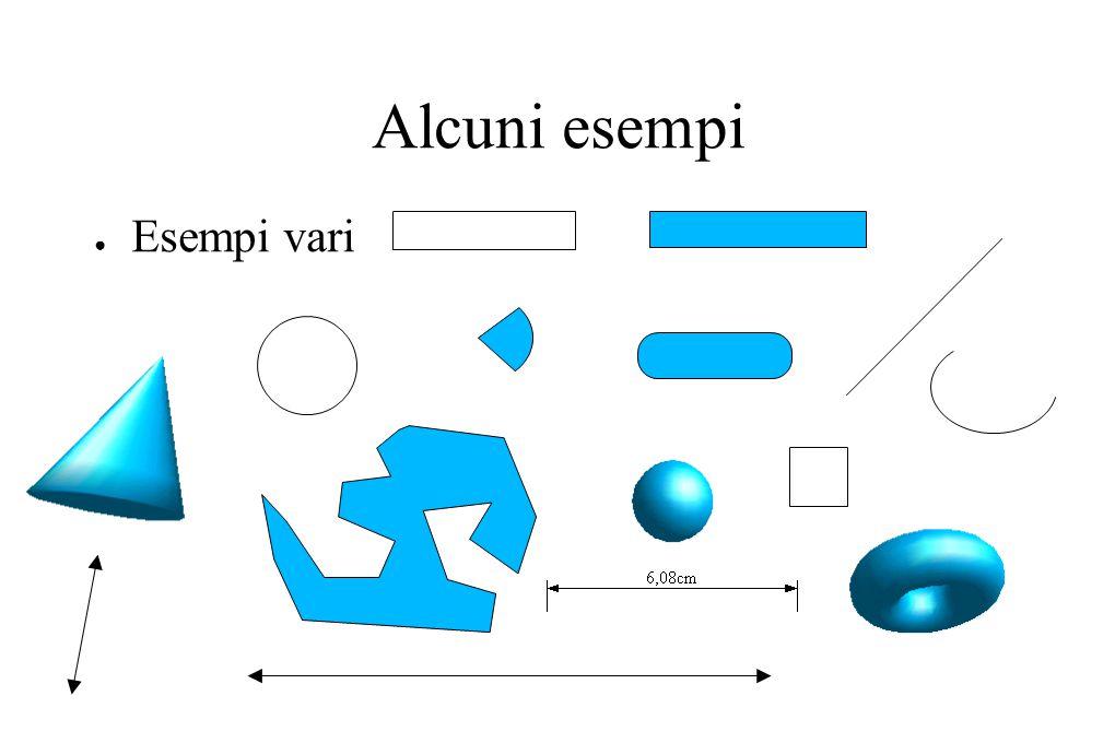 Alcuni esempi ● Esempi vari