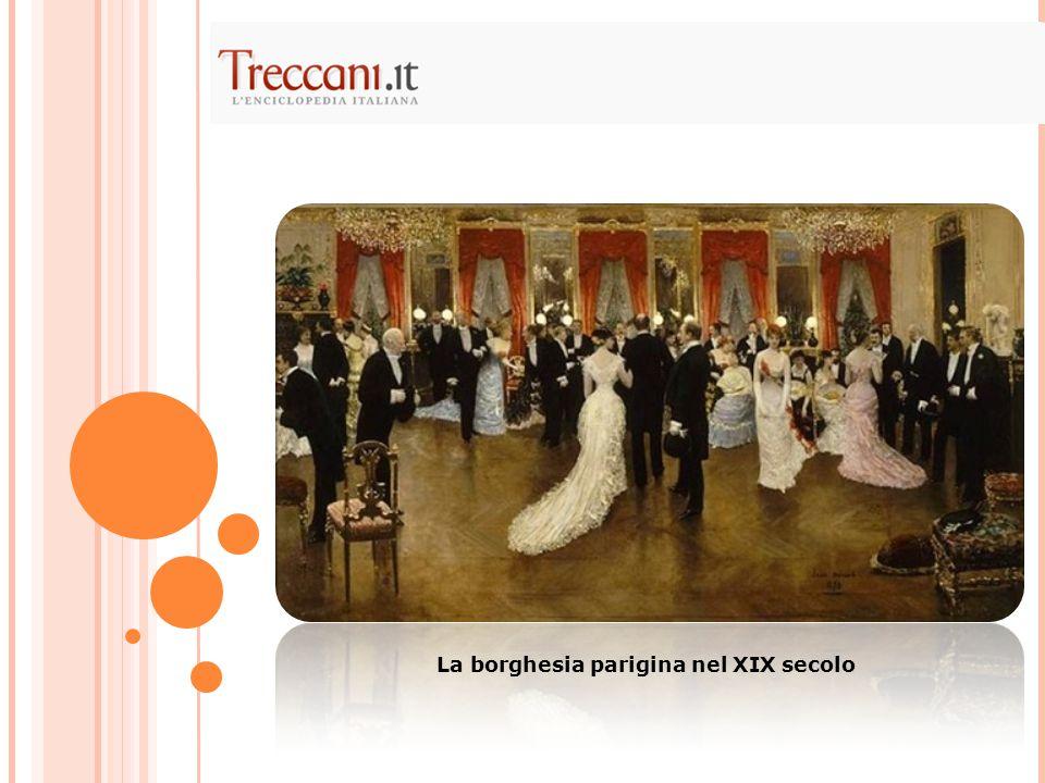 La borghesia parigina nel XIX secolo