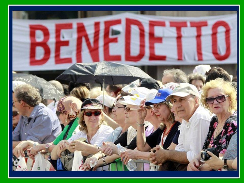 Benedetto XVI ha dedicato l'Udienza Generale di mercoledì 6 giugno 2012 in piazza San Pietroin in Vaticano al Viaggio a Milano in occasione dell'incontro mondiale delle Famiglie 1-3 giugno 2012