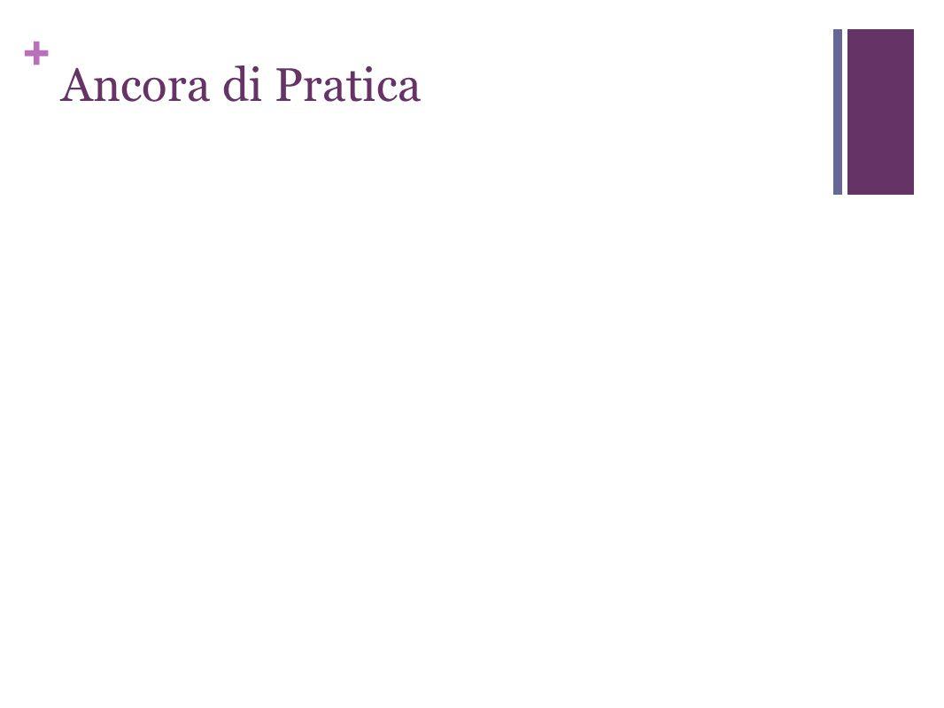 + Ancora di Pratica