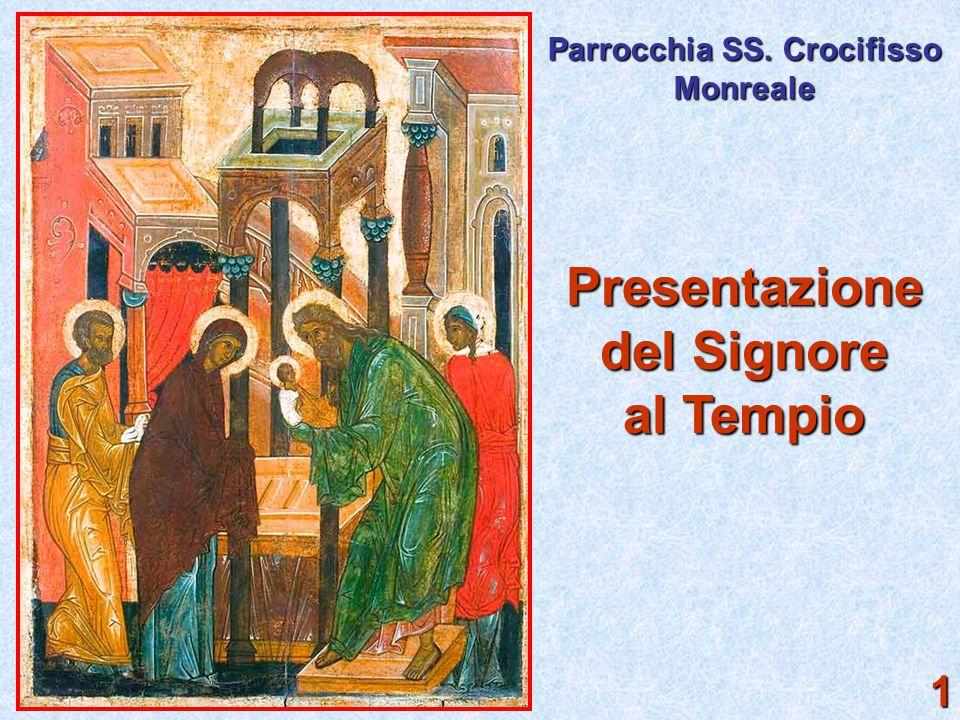 Presentazione del Signore al Tempio Parrocchia SS. Crocifisso Monreale 1
