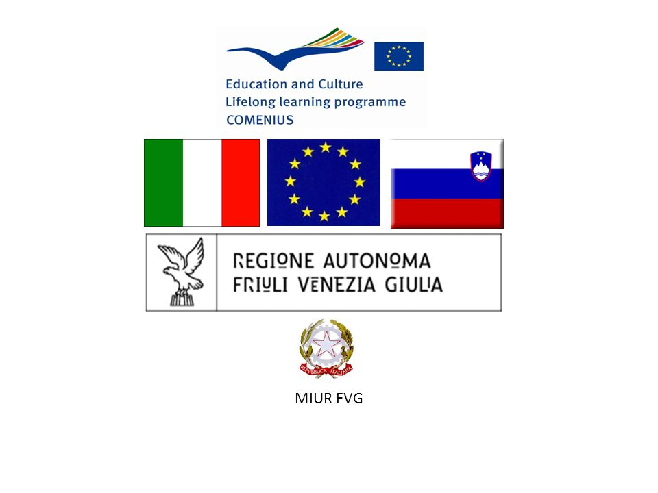 COMENIUS REGIO Italia - Slovenia due stati transfrontalieri Ball Beyond Horizon ŽOGA BREZ MEJA PALLA SENZA CONFINI 2009/2010 2010/2011
