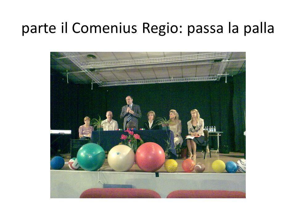 parte il Comenius Regio: passa la palla