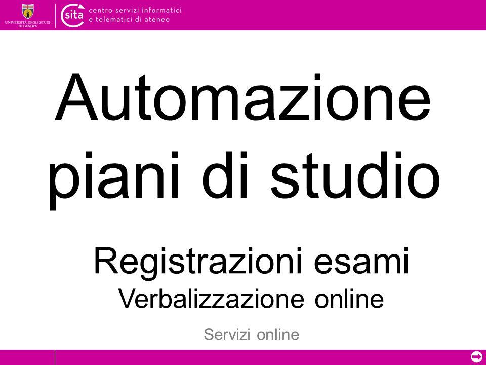 ➲ Registrazione on-line ? 1 2