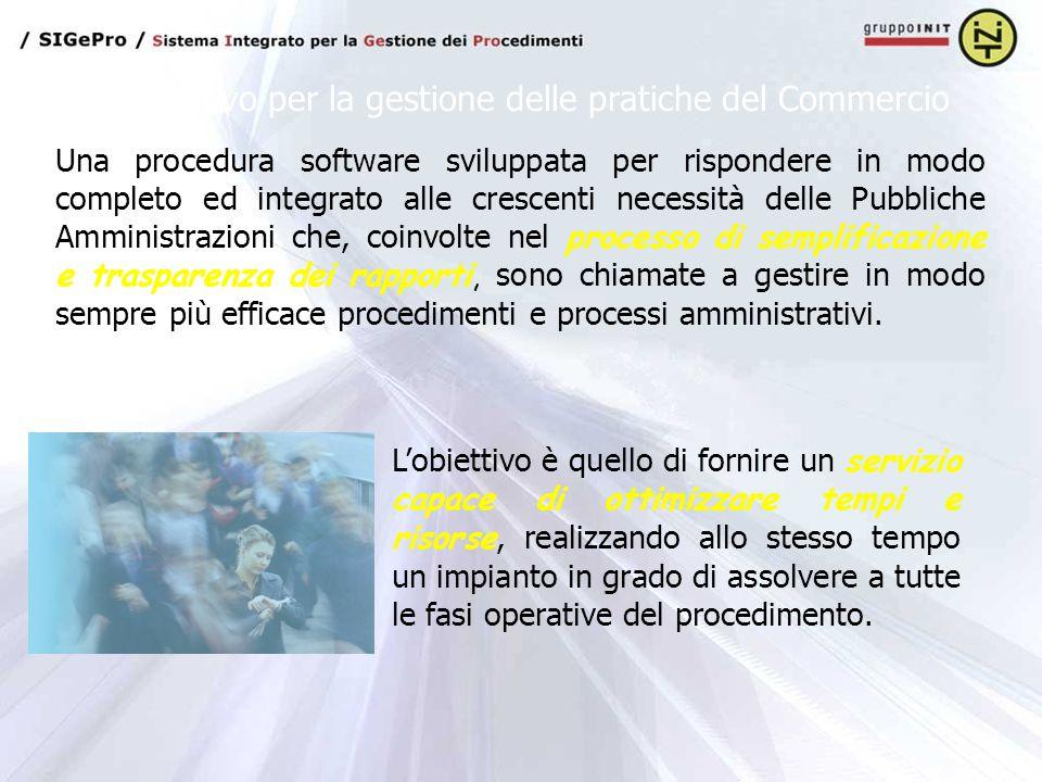 Una procedura software sviluppata per rispondere in modo completo ed integrato alle crescenti necessità delle Pubbliche Amministrazioni che, coinvolte