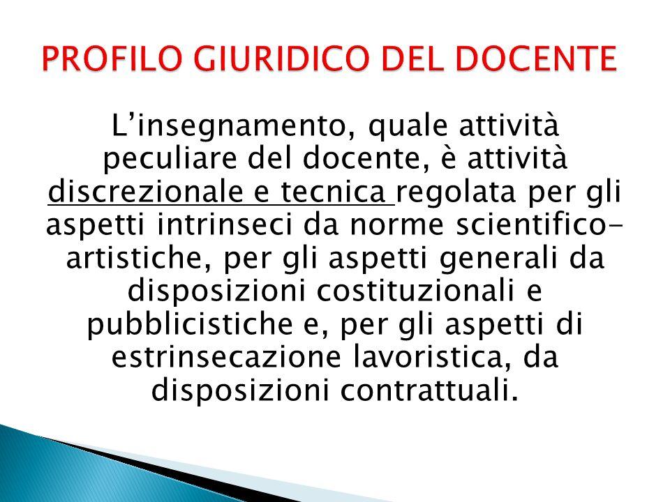  Costituzione nella parte in cui contiene disposizioni sulla libertà d'insegnamento (art.
