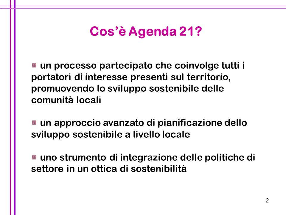 2 un processo partecipato che coinvolge tutti i portatori di interesse presenti sul territorio, promuovendo lo sviluppo sostenibile delle comunità loc