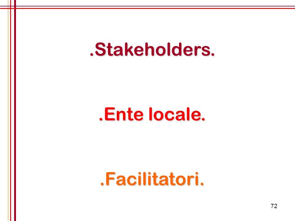 72.Stakeholders..Ente locale..Facilitatori.