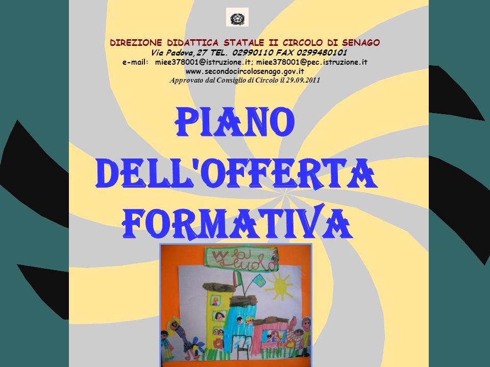 DIREZIONE DIDATTICA STATALE II CIRCOLO DI SENAGO Via Padova,27 TEL.