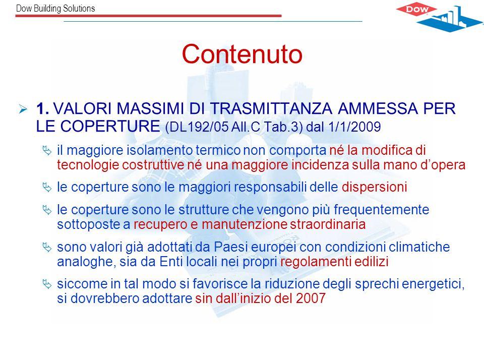 Dow Building Solutions Carlos Castro / The Dow Chemical CompanySILVIA ABBANEO Contenuto  1.
