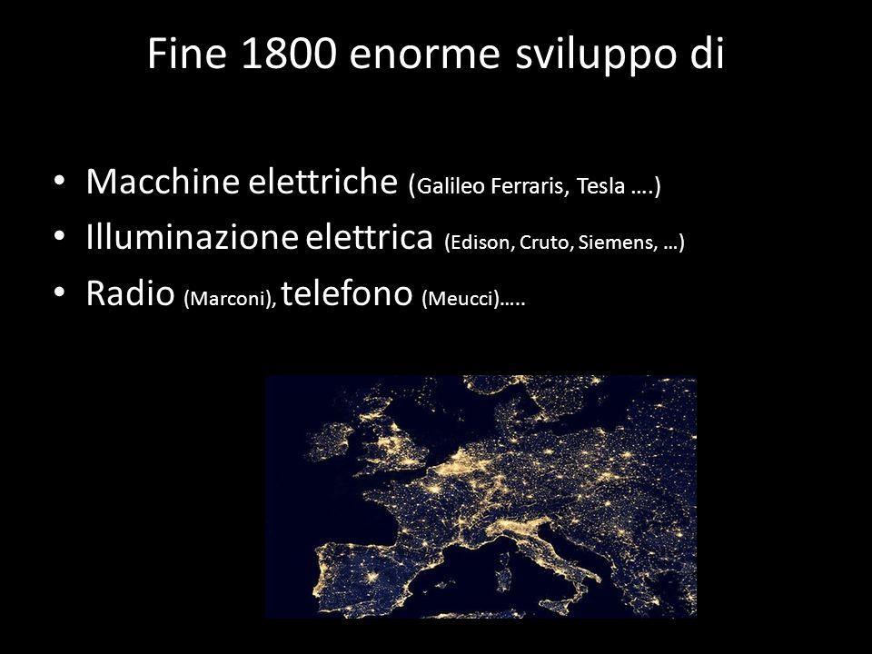 1865: Maxwell descrive la teoria che unifica elettricità ed elettromagnetismo : la luce è un'onda del campo elettromagnetico