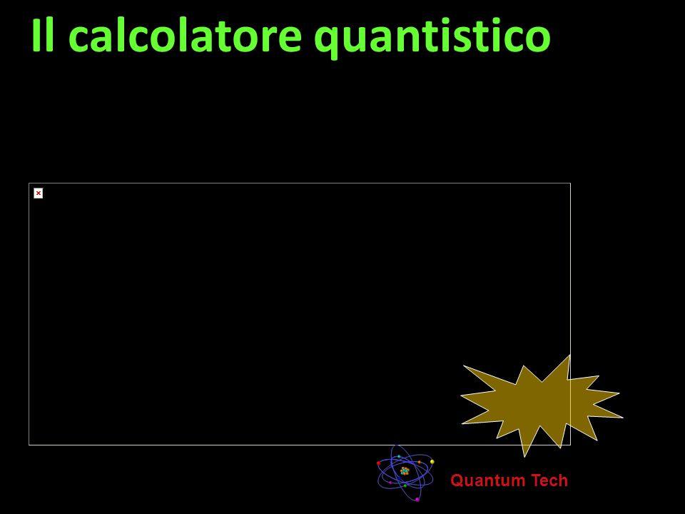 Le tecnologie quantistiche La codifica, la trasmissione e l'elaborazione dell'informazione per mezzo di stati quantistici ono gli elementi di una nuov