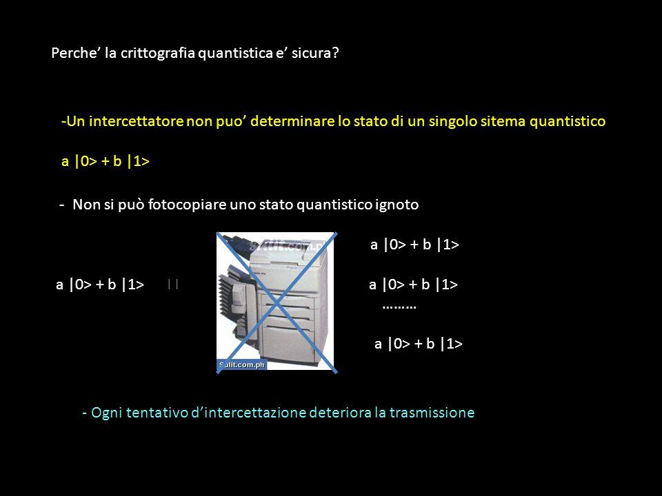 Chiave = 010001110 1110011110000 + Chiave = 010001110 1110011110000 Messaggio = 1110101010101010011111 →
