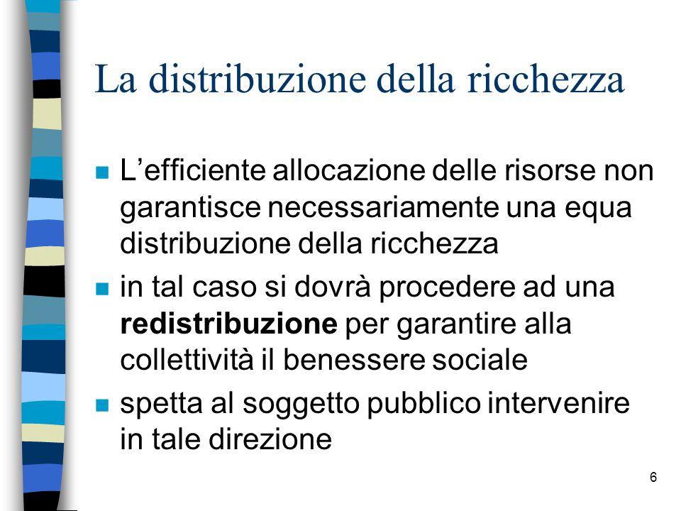 7 … la redistribuzione (2)...