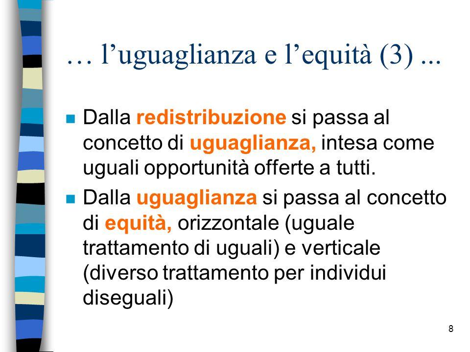8 … l'uguaglianza e l'equità (3)...