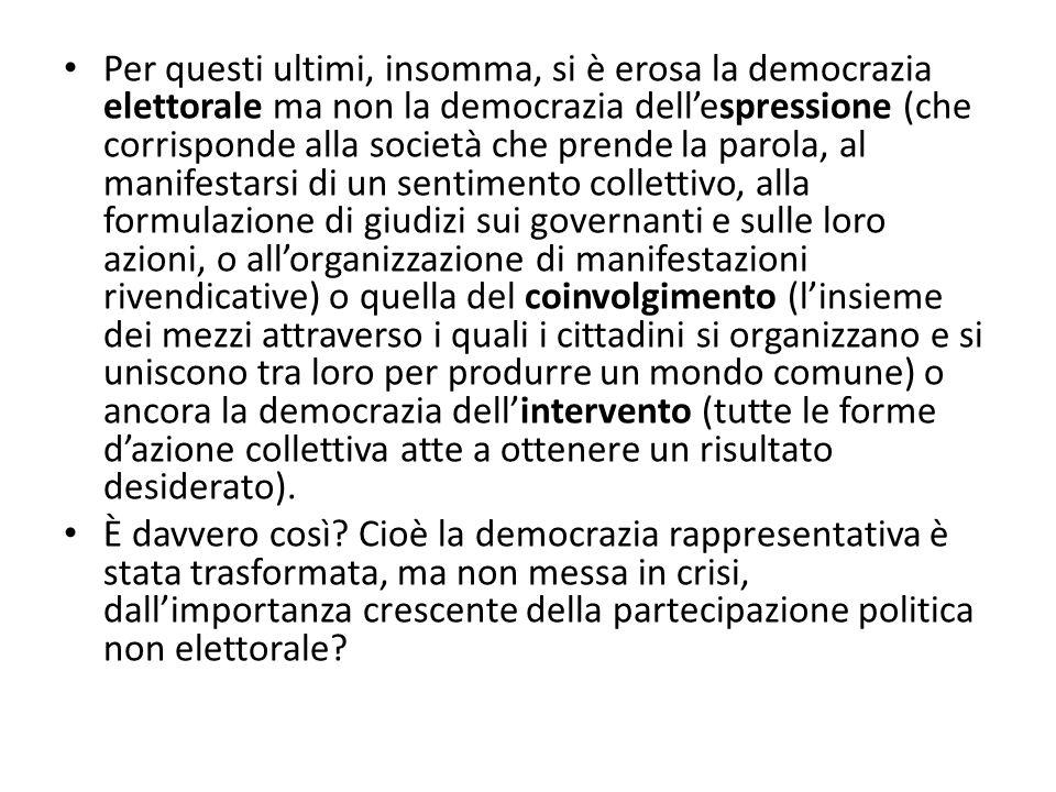 Parlamentarismo Elezioni dei rappresentanti: la rappresentanza avviene su base esplicitamente personale e individuale.