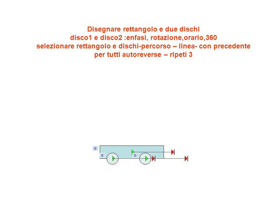 Variante : selezionare rettangolo- disegno-porta in primo piano