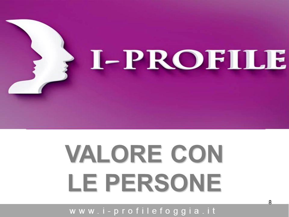 8 VALORE CON LE PERSONE www.i-profilefoggia.it O PEN S OURCE M ANAGEMENT