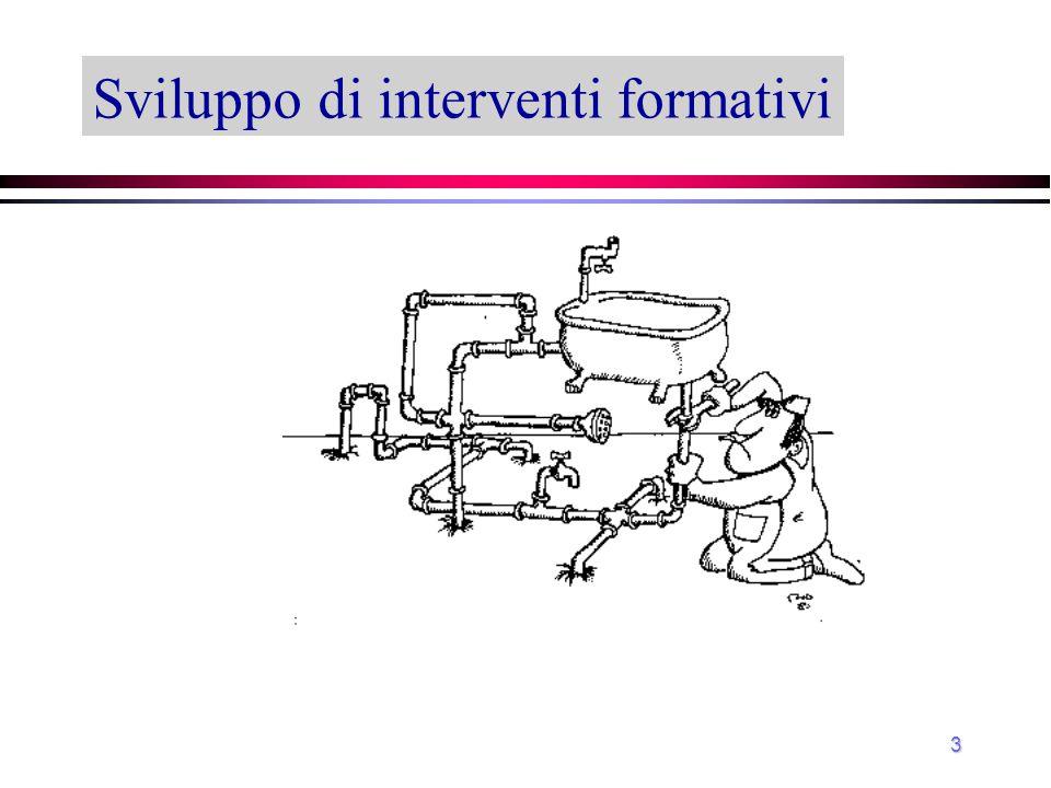 3 Sviluppo di interventi formativi