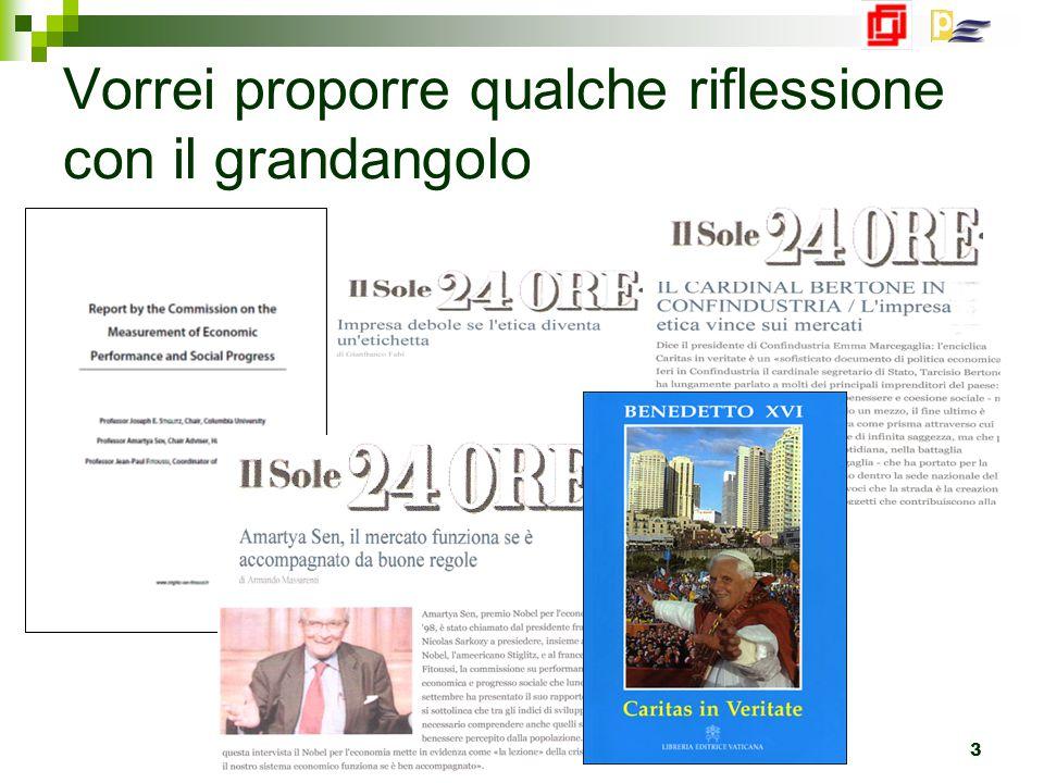 Bologna 23 Marzo 2010 3 Vorrei proporre qualche riflessione con il grandangolo