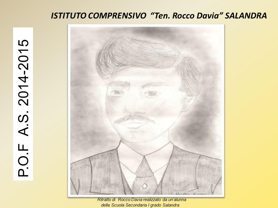 ISTITUTO COMPRENSIVO Ten.Rocco Davia SALANDRA P.O.F A.S.
