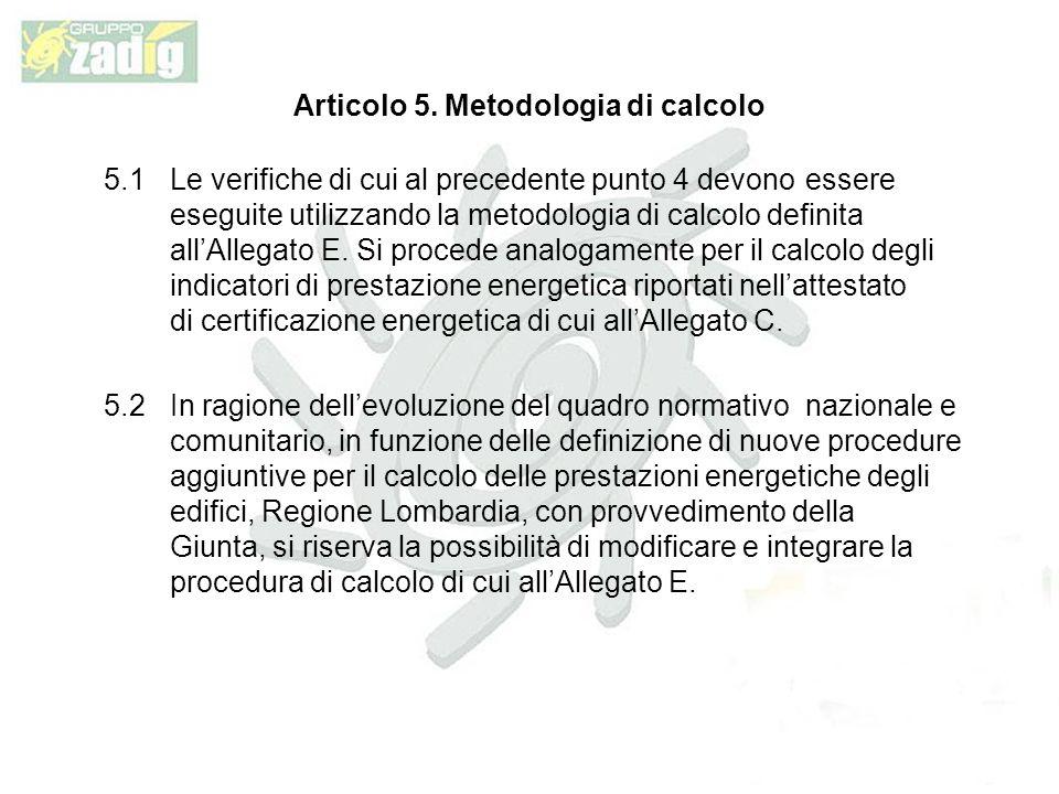 Articolo 5.
