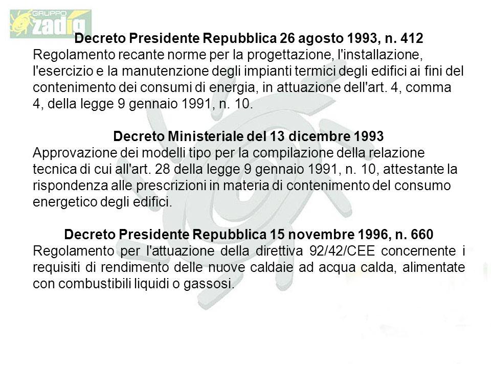 Decreto Presidente Repubblica 26 agosto 1993, n.