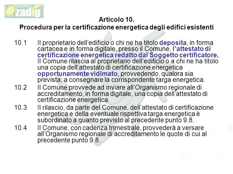 Articolo 10.