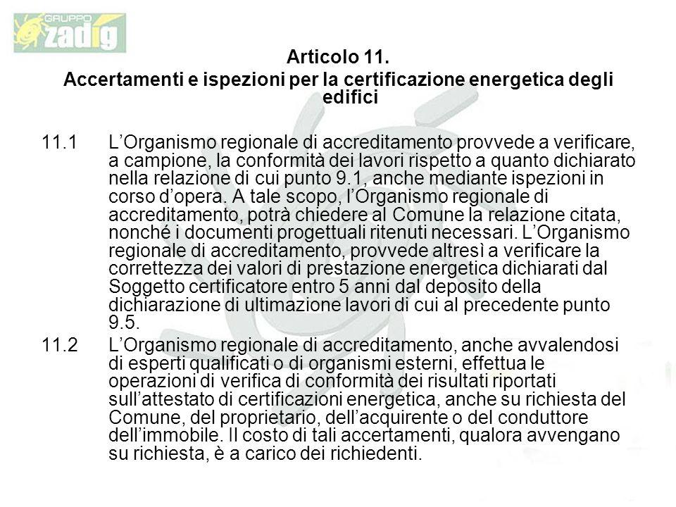 Articolo 11.