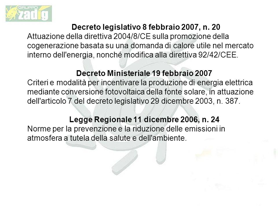 Decreto legislativo 8 febbraio 2007, n.