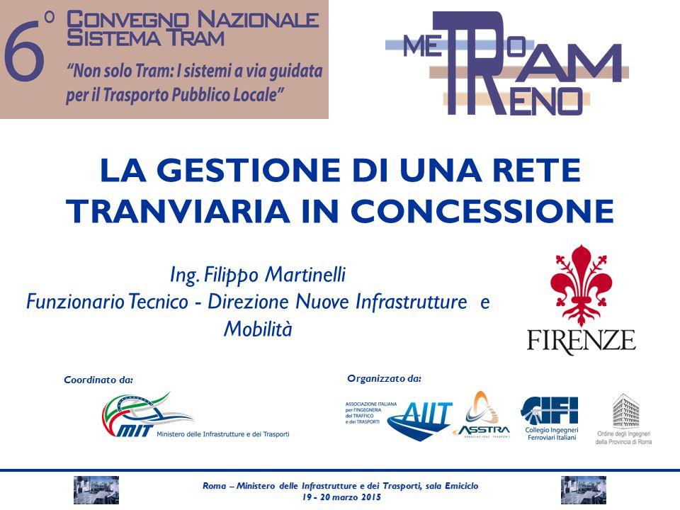 Roma – Ministero delle Infrastrutture e dei Trasporti, sala Emiciclo 19 - 20 marzo 2015 19 - 20 marzo 2015 Coordinato da: Organizzato da: LA GESTIONE