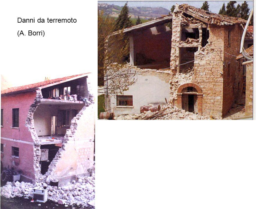 Danni da terremoto (A. Borri)