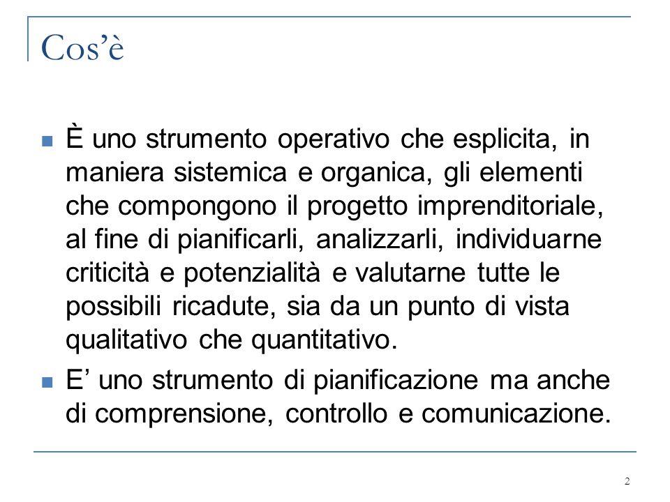 Destinatari Soggetti interni  Imprenditore  Personale Soggetti esterni  Investitori  Partner  Banche  Sindacati  Enti pubblici 3