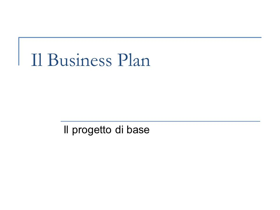 Progettazione per lo sviluppo delle imprese49 2.