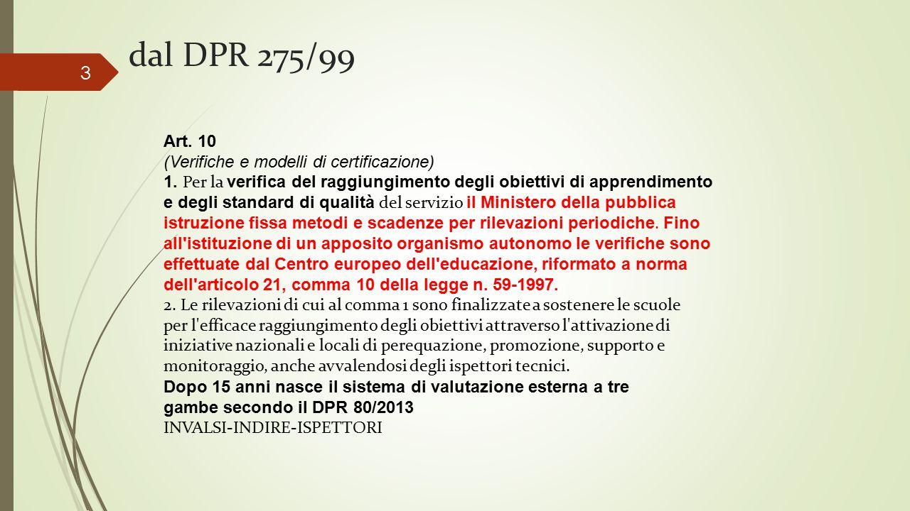 Art.10 (Verifiche e modelli di certificazione) 1.