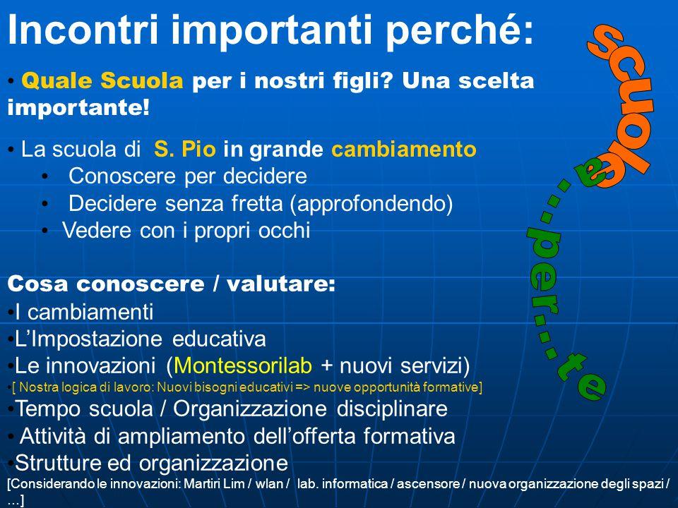 Le innovazioni: Una struttura rinnovata organizzazione degli spazi Reggio Chlidren Una struttura rinnovata con una nuova organizzazione degli spazi ispirata a Reggio Chlidren Un Team teaching rinnovato ed una nuova organizzazione degli insegnamenti